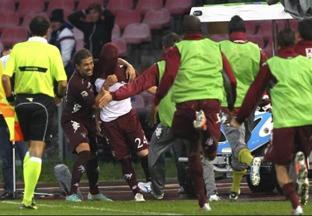 Napoli regaló dos puntos y la Juve parece inalcanzable