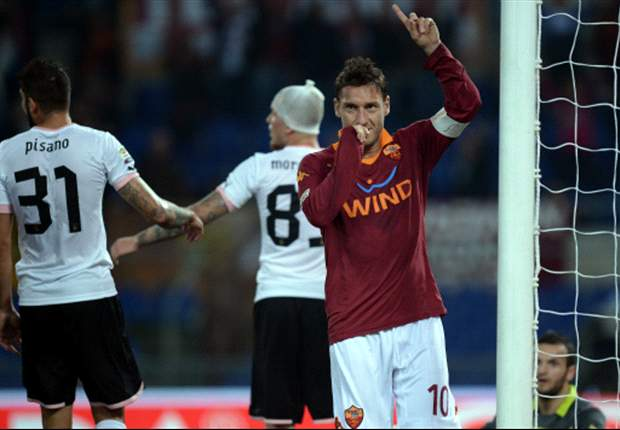 Laporan Pertandingan: AS Roma 4-1 Palermo