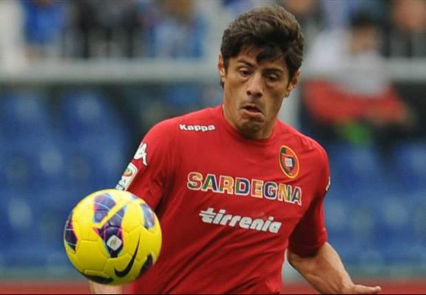 Il Napoli potrebbe aver trovato il vice Cavani al Cagliari, grazie ad un'operazione incrociata: Nenè in azzurro, il figlio di Cellino in un film di De Laurentiis...
