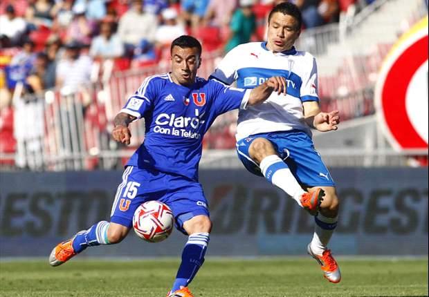 La U de Chile jugará con tres delanteros