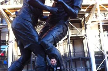 Materazzi tweets picture of himself with Zidane headbutt statue