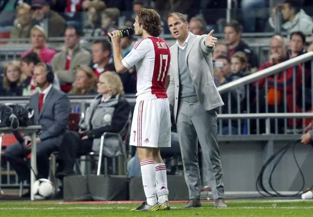 Ajax na winterstop om tafel met Blind
