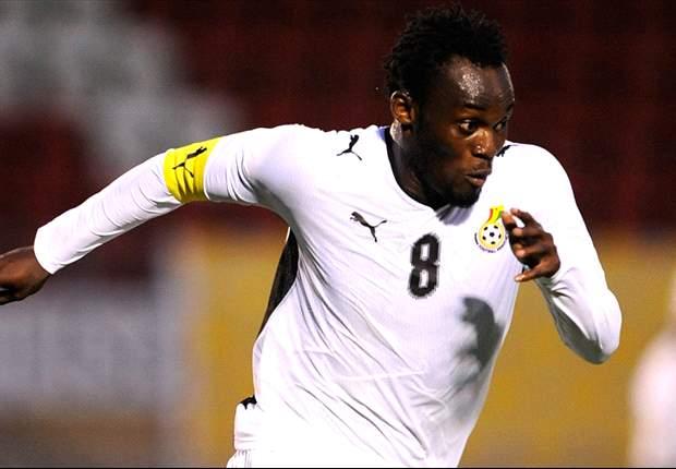 Michael Essien rechaza jugar con Ghana la Copa África 2013