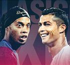 Ronaldinho en Ronaldo in Clásico Ultimate Team!