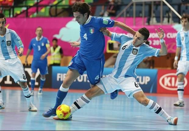 Mundial de Futsal: Argentina perdió, pero sigue con chances