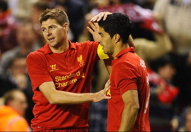 Gerrard ruled out as Suarez named in Liverpool squad for Udinese clash