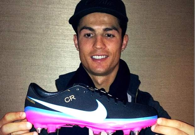 Win a pair of replica Ronaldo boots & Real Madrid shirt - subscribe to our YouTube channel now!