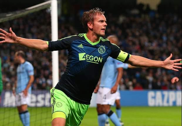 De Jong baalt van tegengoals Ajax