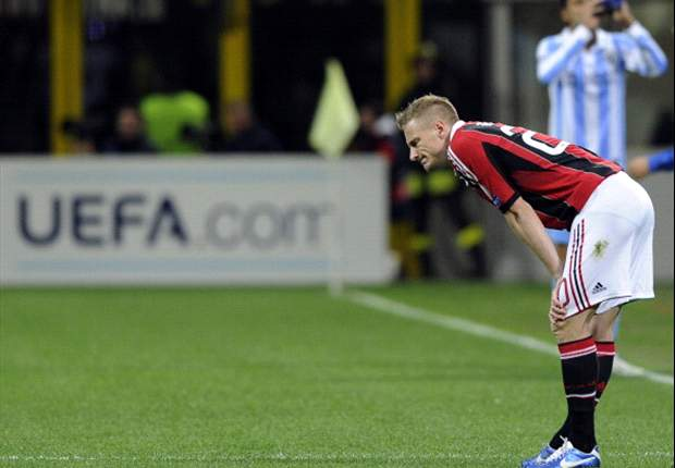 AC Milan handed Abate injury blow