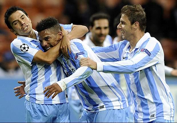 Málaga-Real Sociedad: Los de Manuel Pellegrini, a recuperar la buena senda en Liga