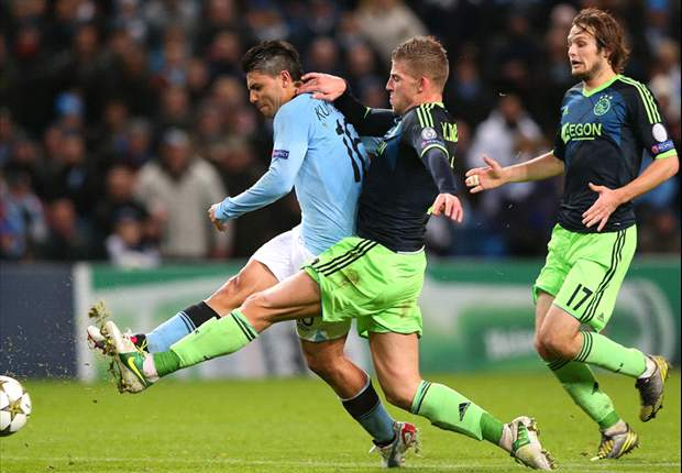 Manchester City 2-2 Ajax: Aguero nets equalizer but hosts edge closer to elimination