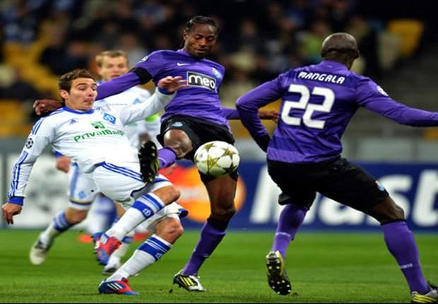 Ditahan Dynamo Kiev, Porto Ke 16 Besar