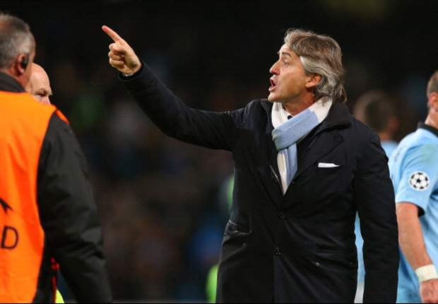 Mancini demands perfection against Real Madrid