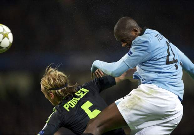Yaya Toure: It's the referee's fault that Manchester City didn't beat Ajax