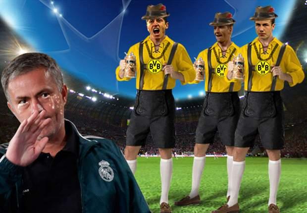 El Real Madrid no puede con los alemanes