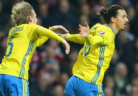REPORT: Denmark 2-2 Sweden (agg. 3-4)