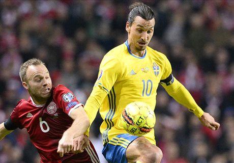 RATINGS: Denmark 2-2 Sweden (agg 3-4)
