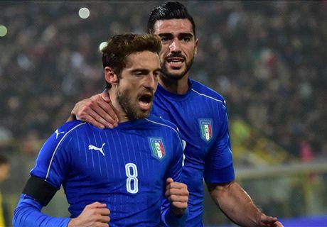 Italy 2-2 Romania: Late Andone goal