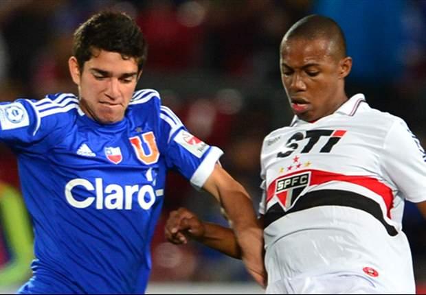 En Vivo: Sao Paulo - U. de Chile, seguí la Copa Sudamericana en Goal.com