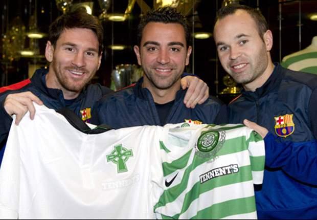 Xavi Hernández: La gente de Celtic Park es un ejemplo