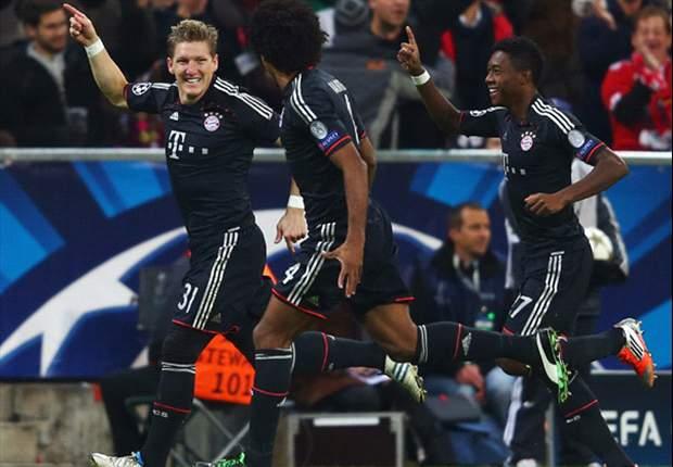 Bayern Munich Menang Telak, Bastian Schweinsteiger Girang