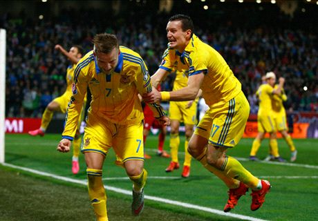 REPORT: Slovenia 1-1 Ukraine (agg 1-3)