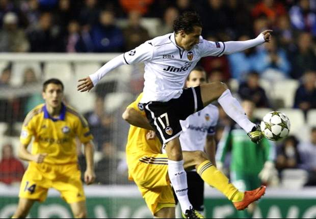 Valencia 4-2 BATE: Los Che beat Belarusians to edge closer to qualification