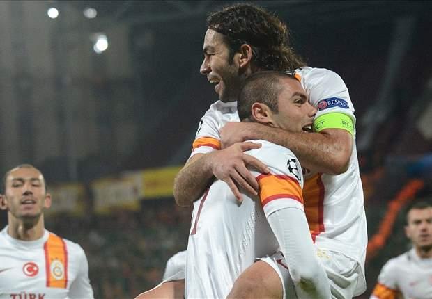 Cluj 1 x 3 Galatasaray: Yilmaz faz três e embola briga pela segunda vaga no Grupo H