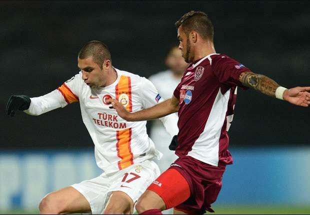 Cluj 1-3 Galatasaray: Burak Yilmaz da vida a los turcos