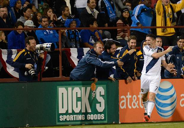 Robbie Keane scores two in LA Galaxy play off victory