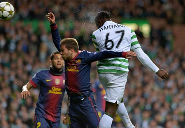 Celtic midfielder Victor Wanyama: Beating Juventus would be a bigger step than beating Barcelona