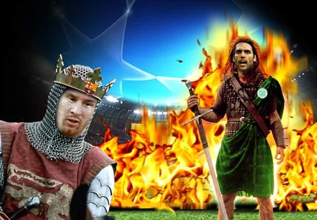 Celtic 'Brave Heart' de Glasgow derrota al nuevo poderoso imperio del Barcelona