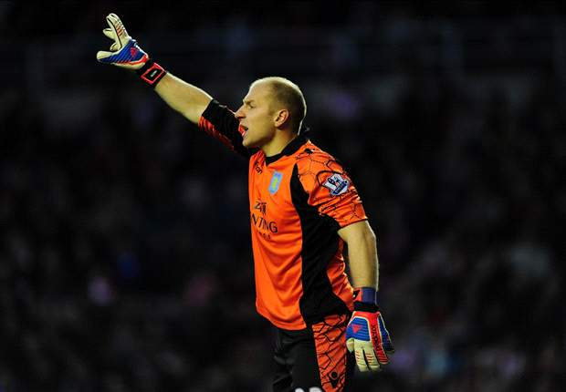 Aston Villa's Guzan would 'love' to return to the MLS one day