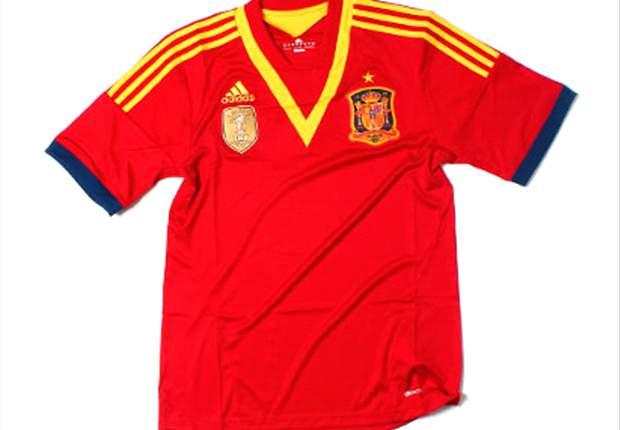 España lucirá nueva camiseta en la Copa Confederaciones