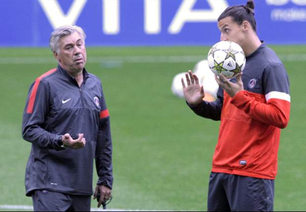 Ancelotti to Ibrahimovic: You promised me 20 goals but you only have 18!