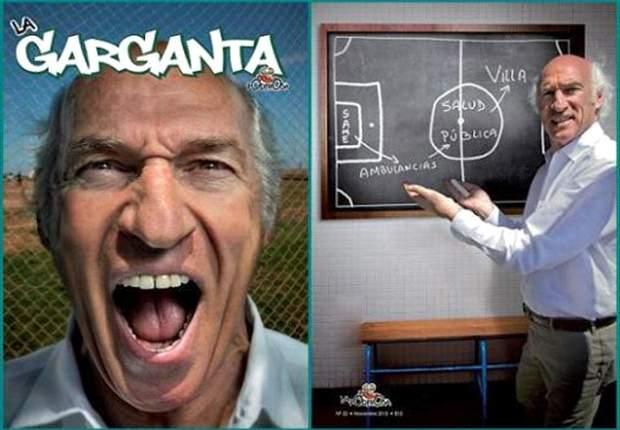 "Carlos Bianchi en una ""hermosa siesta"""