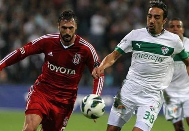Wahnsinnsspiel in Istanbul: Besiktas und Bursaspor trennen sich mit 3:3 nach offenem Schlagabtausch
