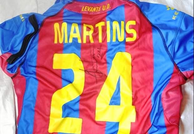 Winner emerges for signed Obafemi Martins jersey