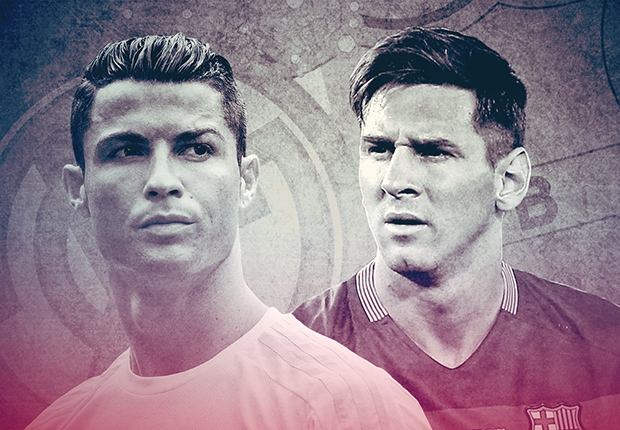 Adu Hebat Cristiano Ronaldo Kontra Lionel Messi