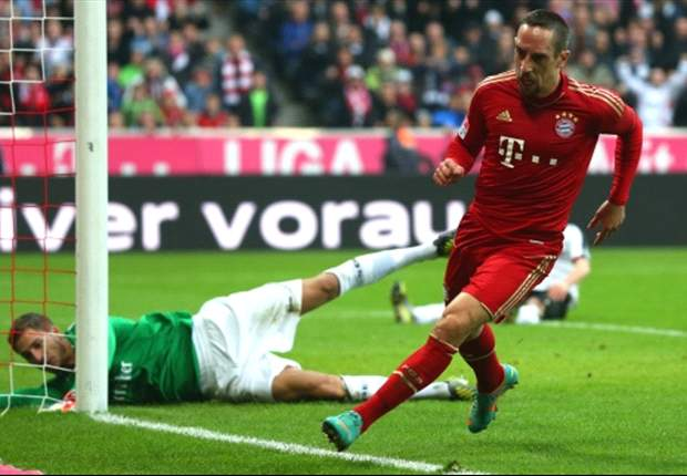 Bundesliga Team of the Week: Ribery stars once again for Bayer
