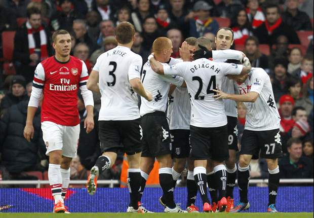 Arsenal 3-3 Fulham: Arteta fluffs late penalty as Giroud and Berbatov star in six-goal thriller