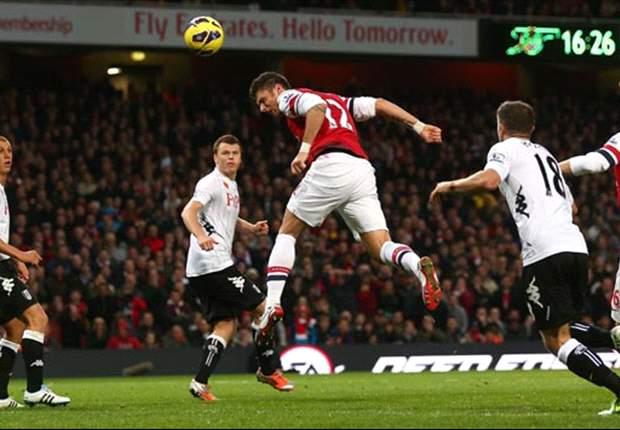 Arsenal 3-3 Fulham: Los 'gunners' vuelven a tropezar a pesar de Olivier Giroud