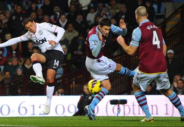 Aston Villa 2-3 Manchester United: Inspired Chicharito denies Weimann and Lambert