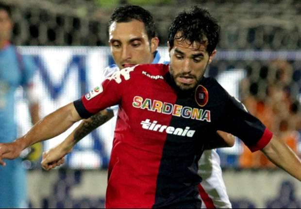Cagliari 0-0 Catania: Ambos conjuntos cosecharon un opaco empate