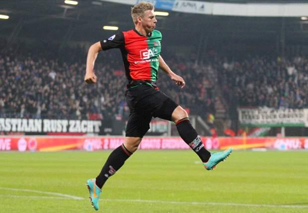 Bekap Heracles, NEC Nijmegen Ke Lima Besar