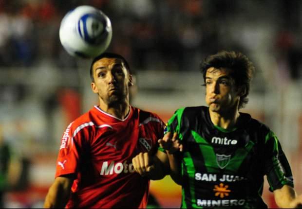 """San Martín e Independiente juegan un partido """"de nueve puntos"""""""