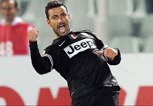 """La Juventus si gode il suo bomber, Quagliarella è raggiante: """"Impazzisco quando segno un bel goal"""""""