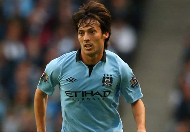 Manchester City expect David Silva to be fit to face United