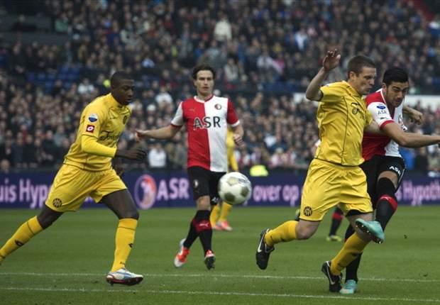 Roda JC en Feyenoord zitten in de lift