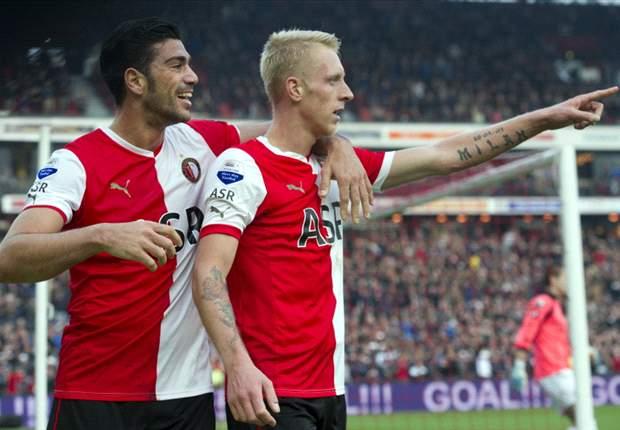 REVIEW Eredivisie Belanda: Feyenoord Dan Ajax Pesta Gol